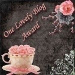 one lovely blog award icon