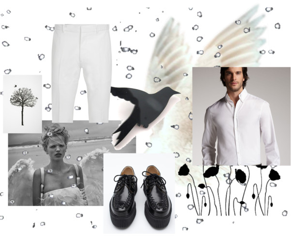 polyvore man outfit