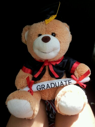 teddy bear graduate