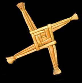 brigid's traditional cross
