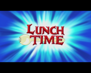 lunch time adventure time