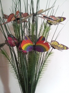 gay pride butterfly