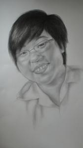 self-portrait Daphnee Kwong Waye