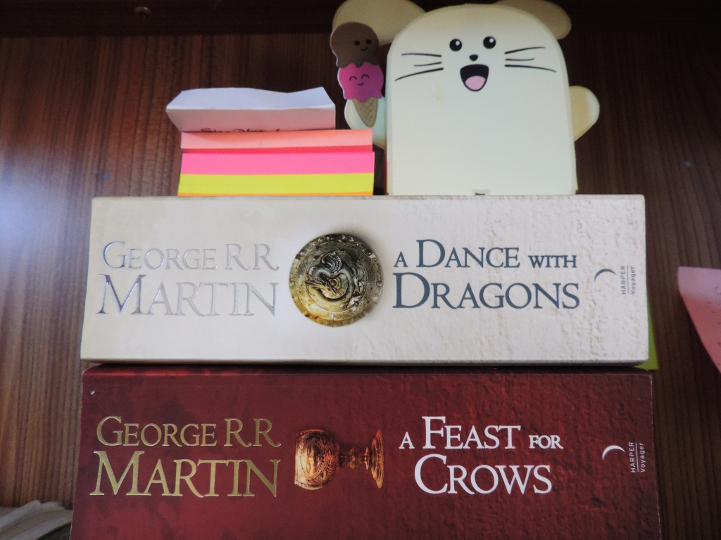 Book 4 and 5 of A Song Of Ice And Fire