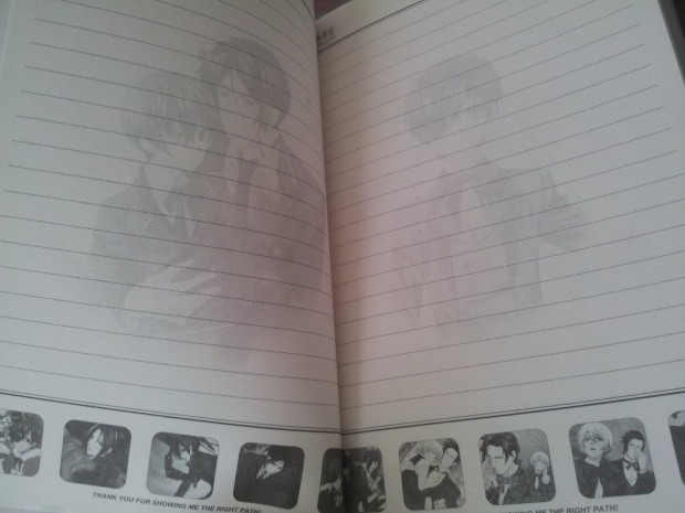 black butler notebook