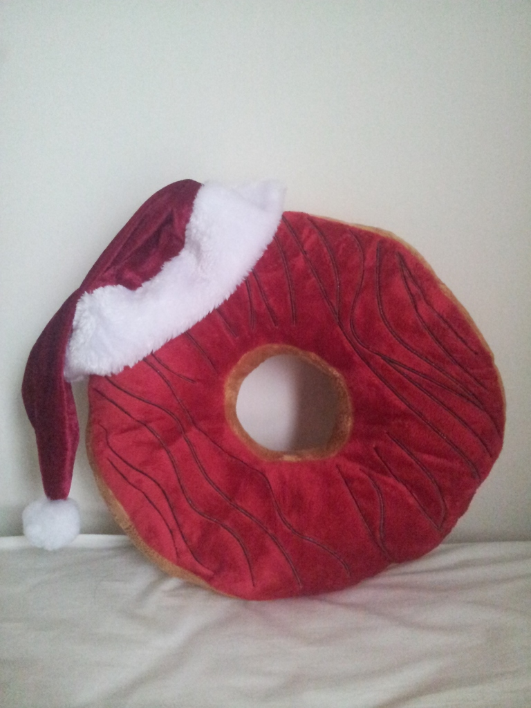 christmas doughnut